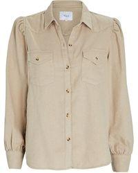 Rails Ada Flannel Button-down Shirt - Natural