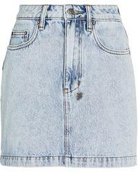 Ksubi Super X Mini Denim Skirt - Blue