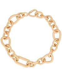 Cult Gaia Reyes Chain Link Necklace - Metallic