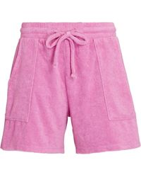 Year Of Ours Poolside Terry Shorts - Pink