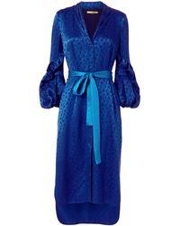 Hellessy - Helga Floral Midi Dress - Lyst