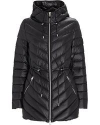 Mackage Tara Hooded Puffer Jacket - Black