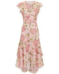 Intermix - Abella Floral Dress - Lyst