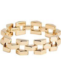 Lulu Frost Geometric Power Bracelet - Metallic