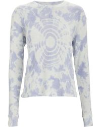 RE/DONE - Thermal Tie-dye Long Sleeve T-shirt - Lyst