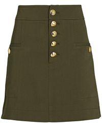 Intermix Palmer Mini -blend Skirt - Green