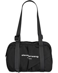 Alexander Wang Wangsport Medium Nylon Duffle Bag - Black