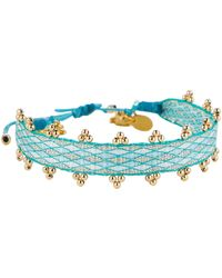Mallarino Friendship Charm Bracelet - Blue