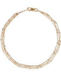 Phyllis + Rosie - Three Layer Chain Bracelet - Lyst