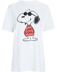 RE/DONE 80s Oversized Joe Cool T-shirt - White