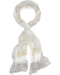 Missoni - Metallic Crochet Wrap - Lyst