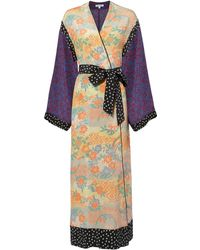 Elizabeth and James - Shawna Floral Patchwork Kimono - Lyst