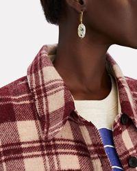 Isabel Marant Aqua Stones Drop Earrings - Multicolour