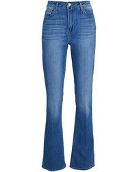 L'Agence Oriana Straight-leg Jeans - Blue