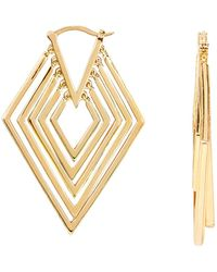 Noir Jewelry - Mavek Earrings - Lyst