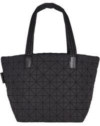VeeCollective Vee Medium Quilted Tote Bag - Black