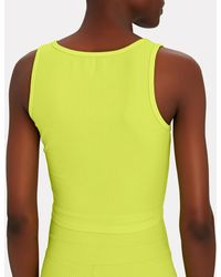 Year Of Ours Notch Tank Top - Green