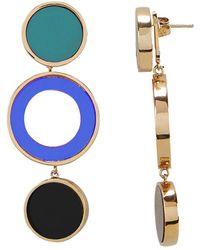 Colette Malouf - Reflection Blue Earrings - Lyst