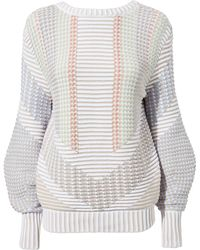 Peter Pilotto - Reversible Sweater - Lyst