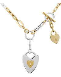 Lulu Frost - Folly Heart Lock Necklace - Lyst