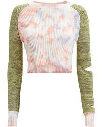 Zoe Jordan Gene Tie-dye Sweater Tie-dye/green P/s