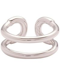 Giles & Brother | Tiny Cortina Ring: Silver | Lyst