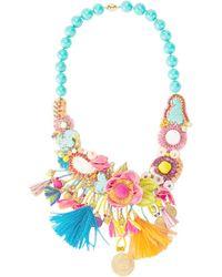 Ranjana Khan - Stone Embellished Necklace - Lyst