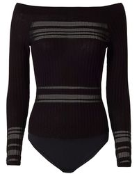 Exclusive For Intermix - Willa Off The Shoulder Bodysuit - Lyst