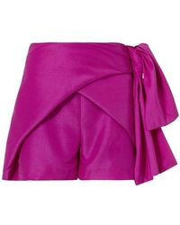 Paper London - Crossover Shorts - Lyst