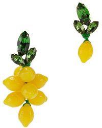 Auden - Mismatched Lemon Earrings - Lyst