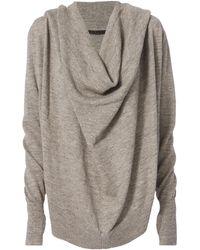 Nicholas K - Marco Granite Hoodie Sweater - Lyst