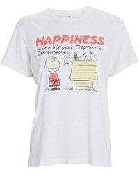 RE/DONE 70s Loose Sharing With Someone T-shirt - White
