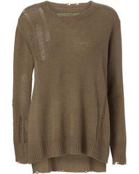 Enza Costa - Drop Needle Sweater - Lyst