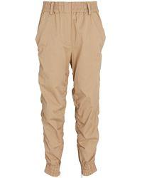 10 Crosby Derek Lam Phoenix Cotton Twill Sweatpants - Natural