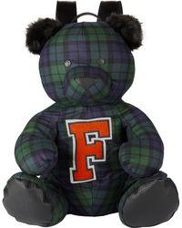 PUMA - Plaid Bear Mascot Backpack - Lyst