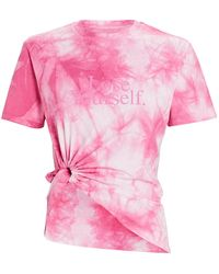 Paco Rabanne Lose Yourself Tie-dyed T-shirt - Pink