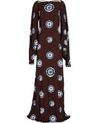 Alexis Beauty Shibori Tie-dye Gown - Multicolor