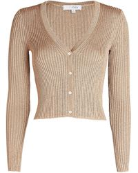 Intermix Marla Cropped Cardigan - Natural