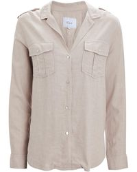 Rails Brooke Button-down Shirt - Natural
