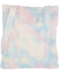 LoveShackFancy Foucault Tie-dye Knit Tote Bag - Pink