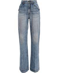 Zimmermann Pocket Flare Jeans - Blue