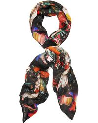 Alexander McQueen - Dripping Flower Scarf - Lyst