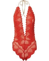 Nightcap - Lima Lace One Piece Swimsuit - Lyst