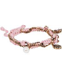 Alexander McQueen Friendship Charm Bracelet - Pink