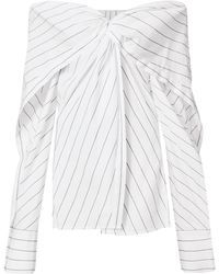 Dion Lee - Reversible Twist Yoke Shirt - Lyst
