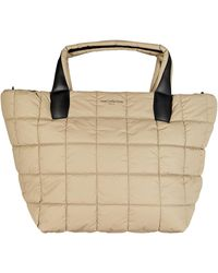 VeeCollective Porter Medium Quilted Tote Bag - Natural