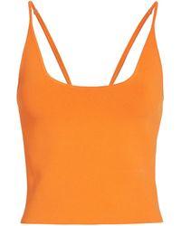 A.L.C. Ava Knit Tank Top - Orange