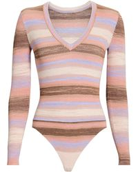 Intermix - Cleo Space Dye Bodysuit - Lyst