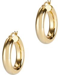 Argento Vivo - Mini Hoops - Lyst