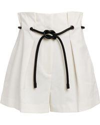 3.1 Phillip Lim Origami Shorts - White